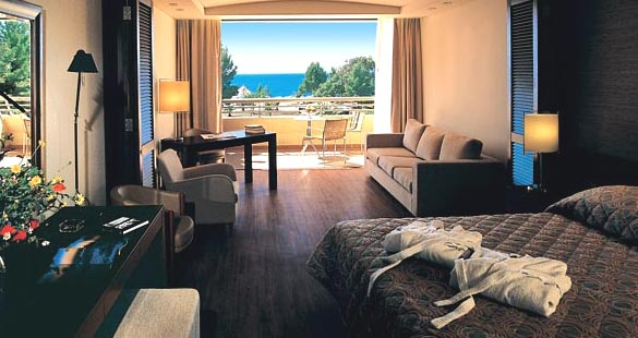 meliton hotel porto carras   luxury ac modation   halkidiki macedonia greece
