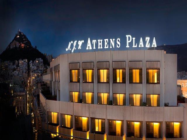 N J V Athens Plaza Grecotel City Hotel 5 Star Hotel In Athens