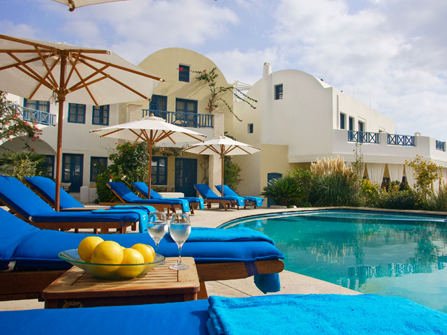 Images And Places Pictures And Info 5 Star Hotels In Santorini