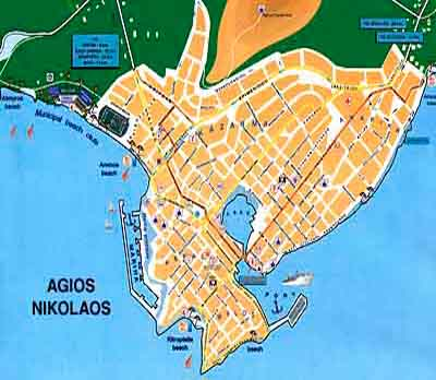 Maps of Crete Island City maps tourist maps archaeological sites
