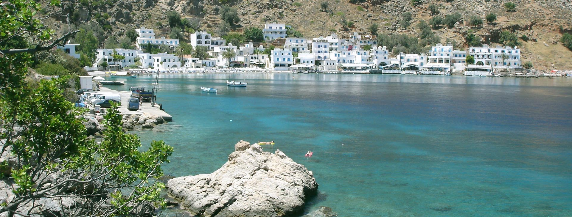Loutro village in south Chania