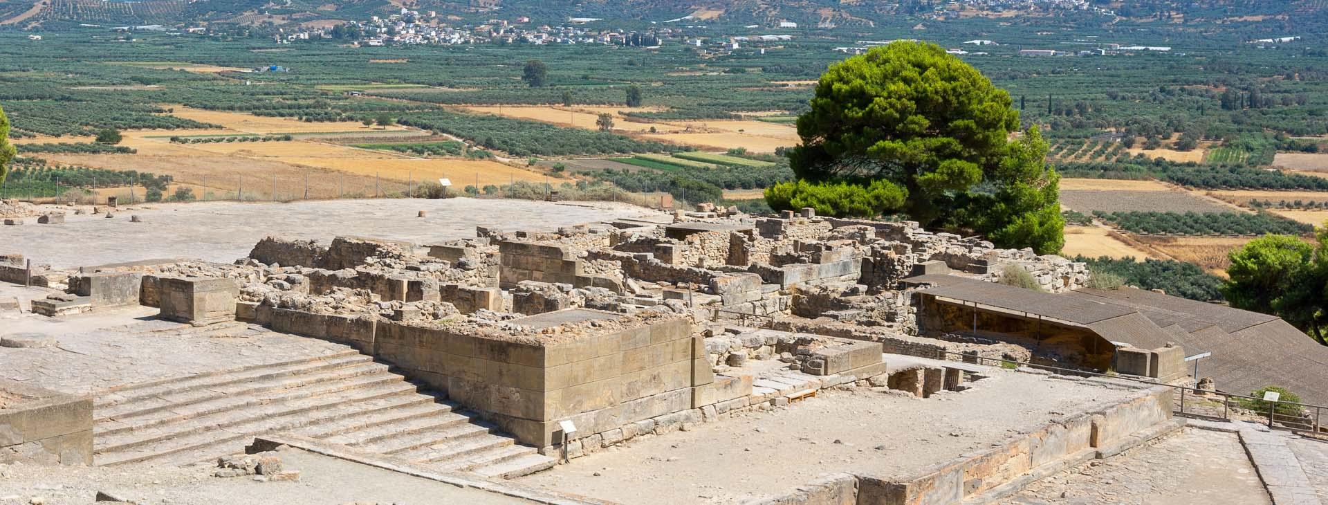Archaeological site of Phaestos, Heraklion