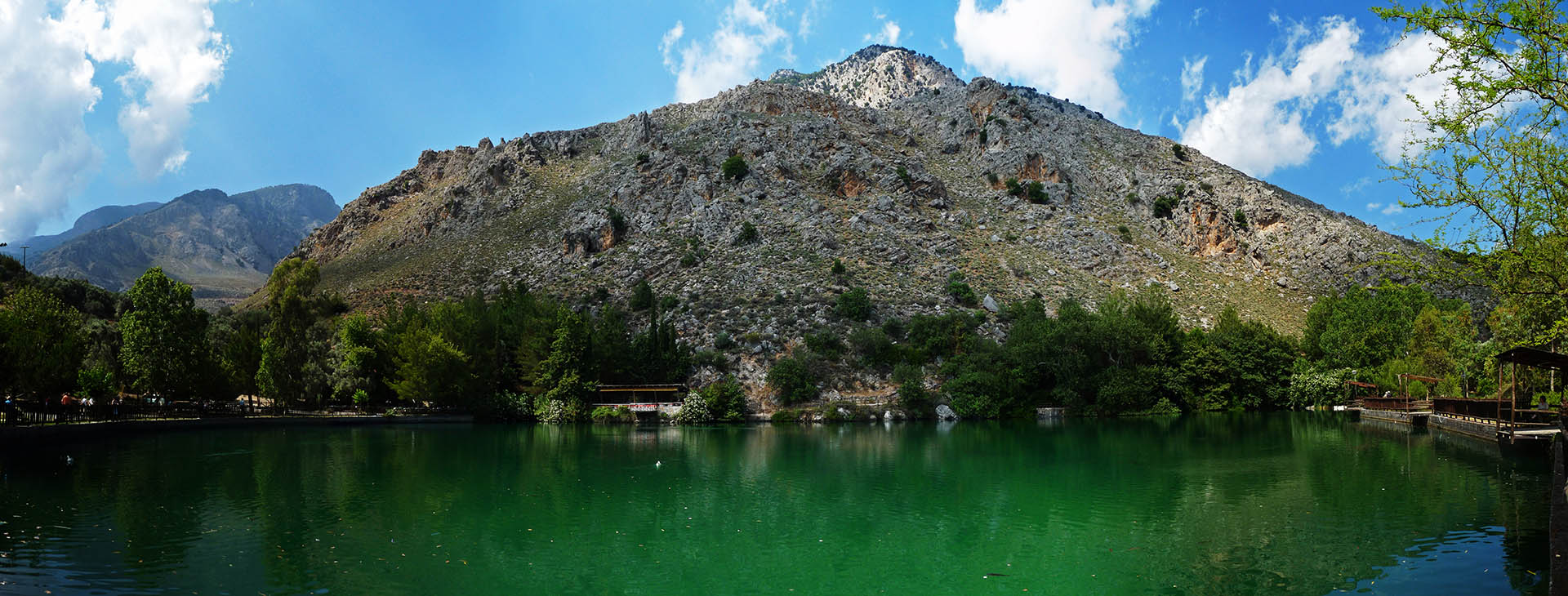 Zaros lake, Heraklion