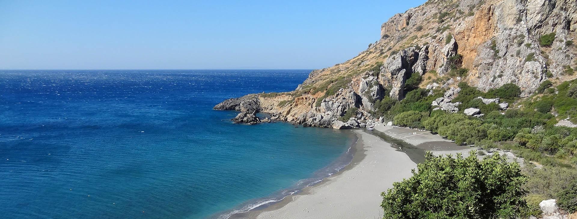 Preveli beach, Rethymnon