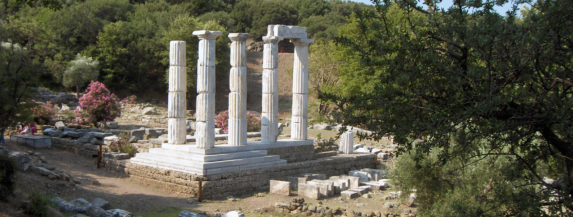 Sanctuary of the Great Gods, Palaiopolis, Samothrace island