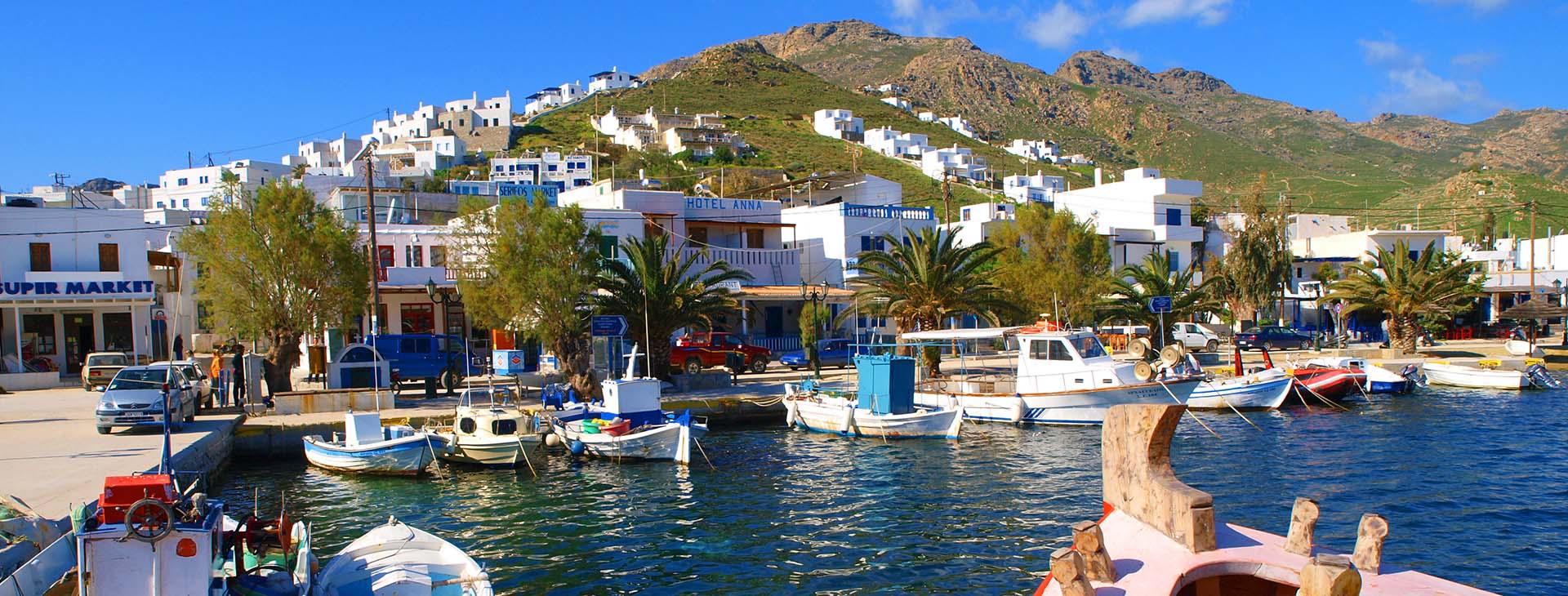 Harbour, Serifos island