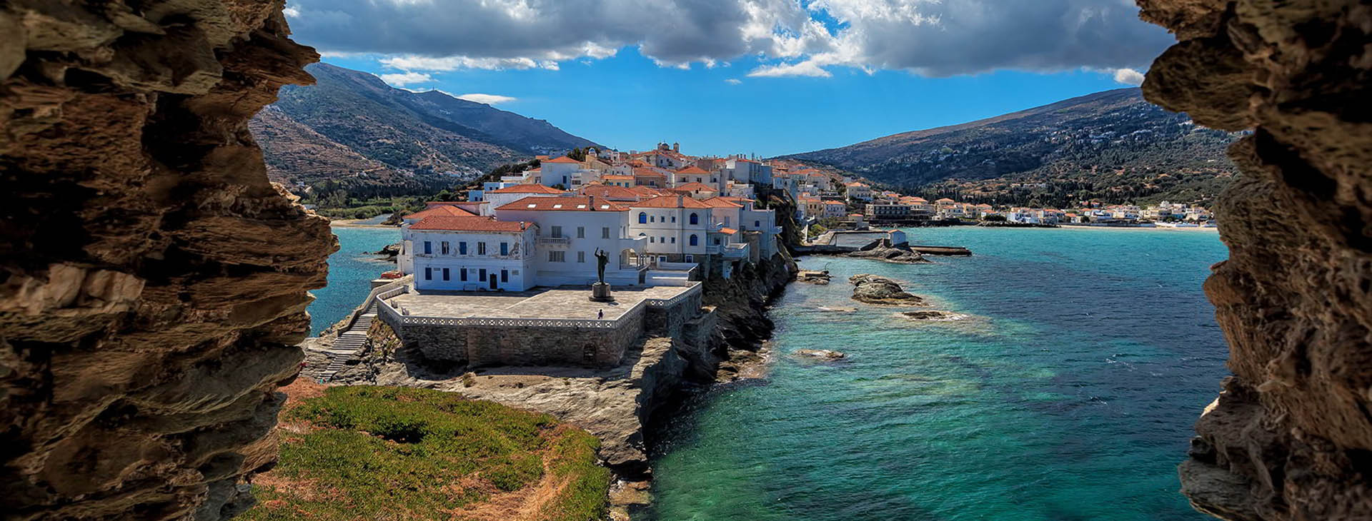Chora (capital town), Andros island