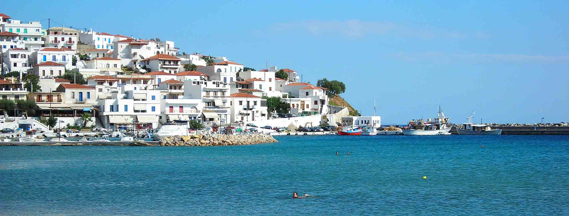 Chora, Andros island