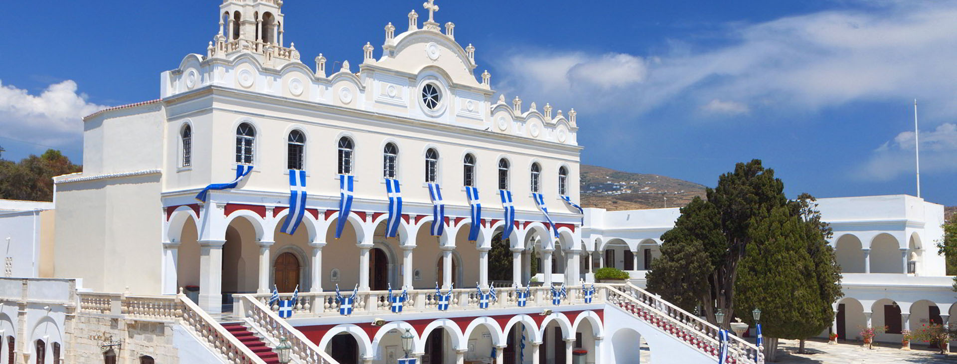 Panagia Evangelistria, landmark of the island, Tinos island