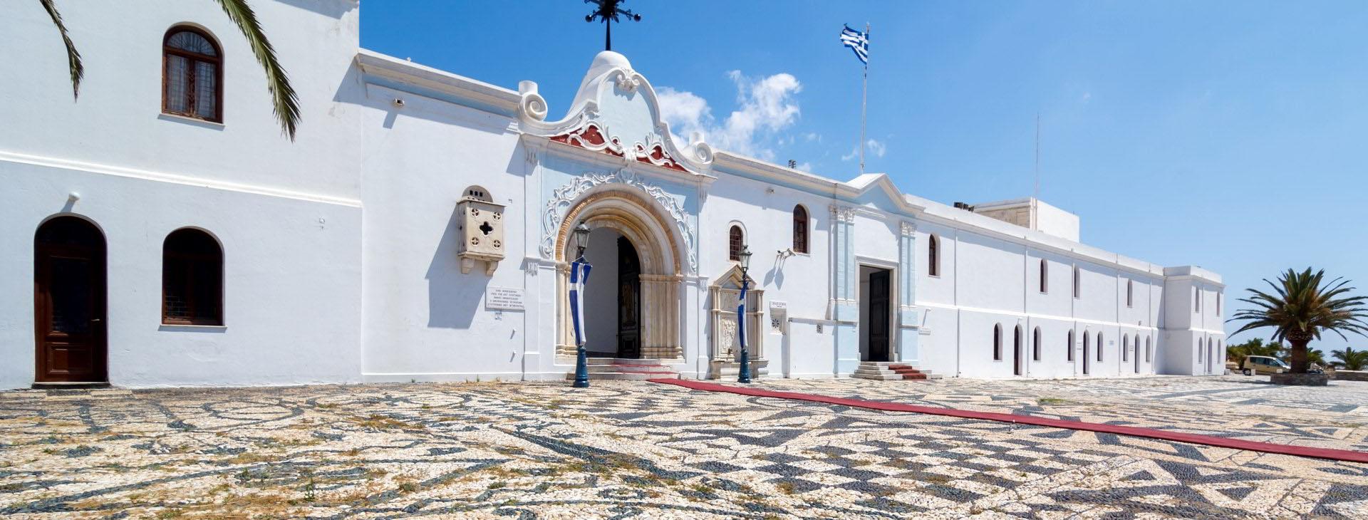 The church of Virgin Mary, Tinos island