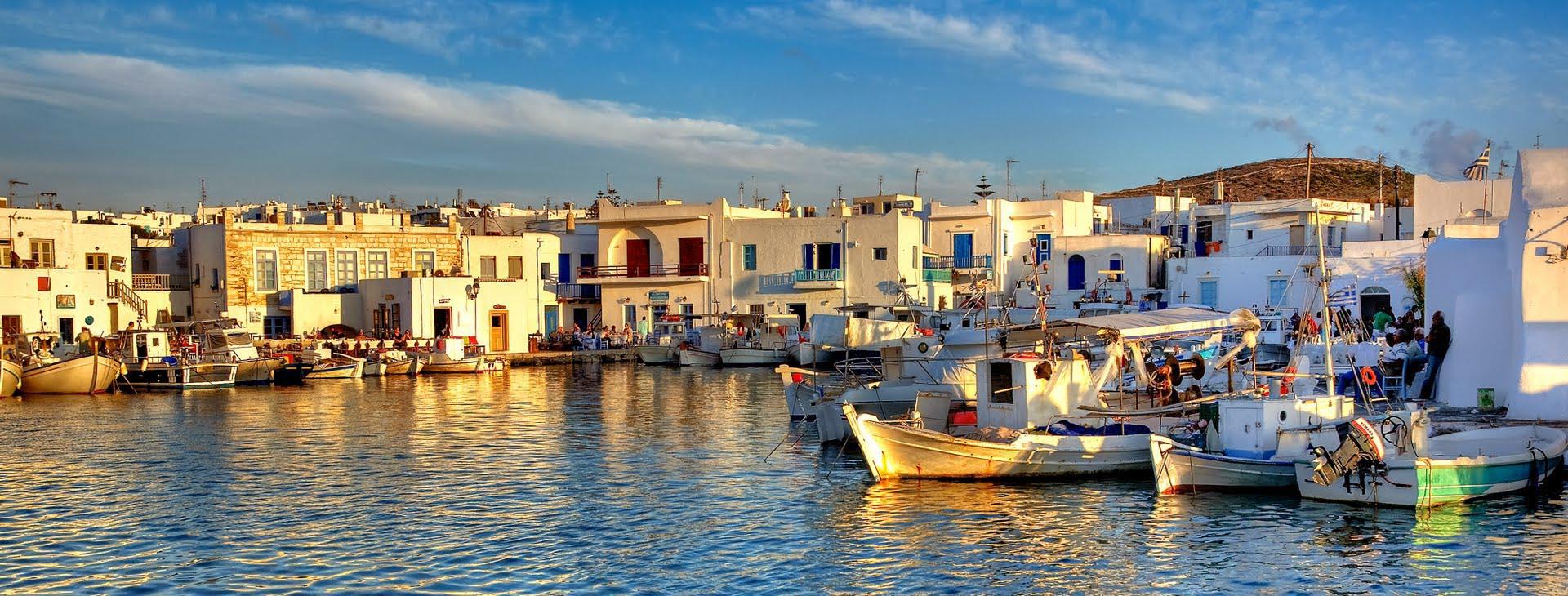 Naousa town at Paros island