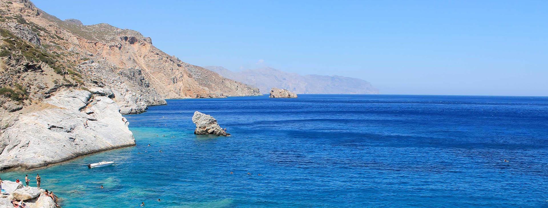 Agia Anna beach, Amorgos island