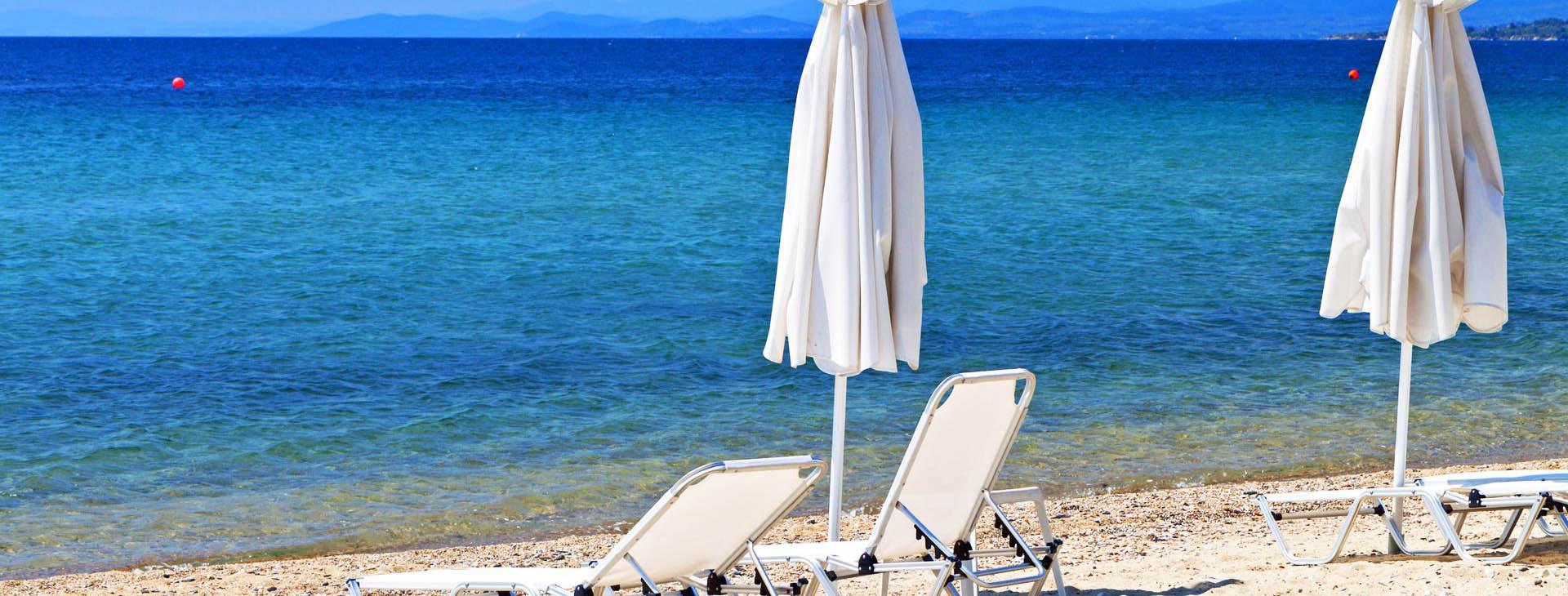 Beach at Amorgos island