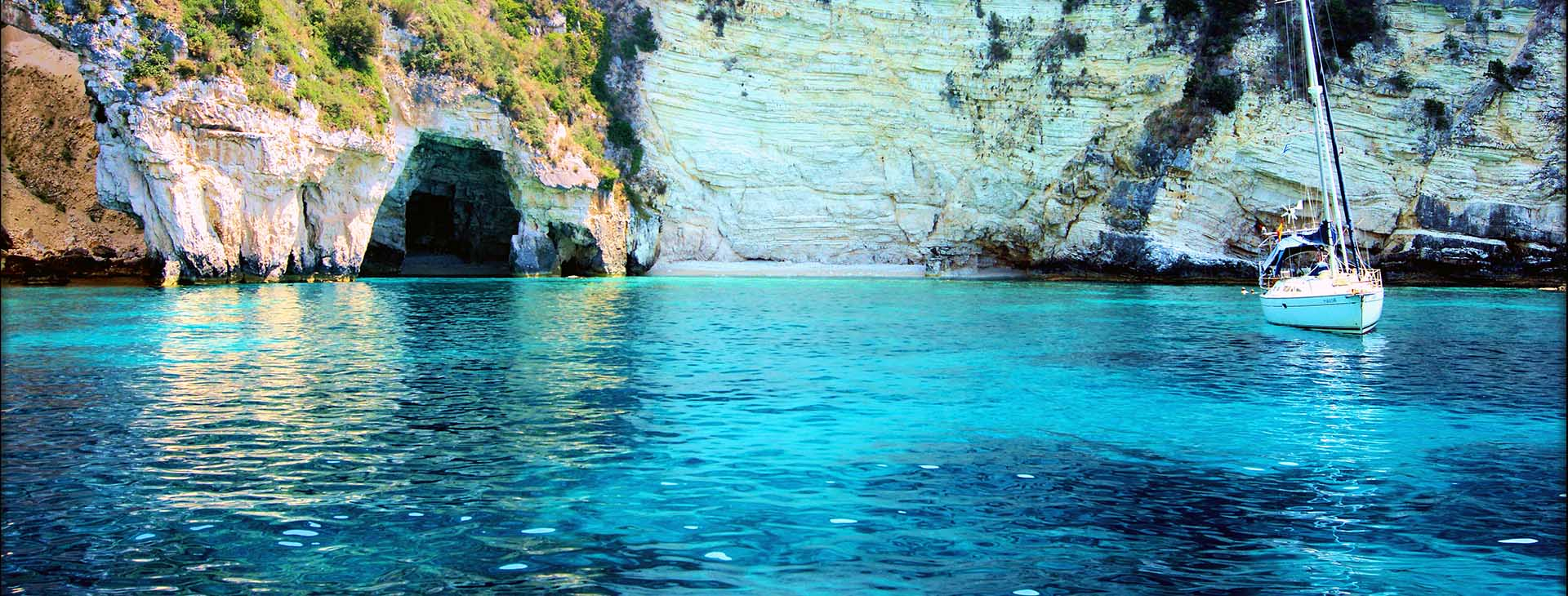 Blue caves, Paxi island