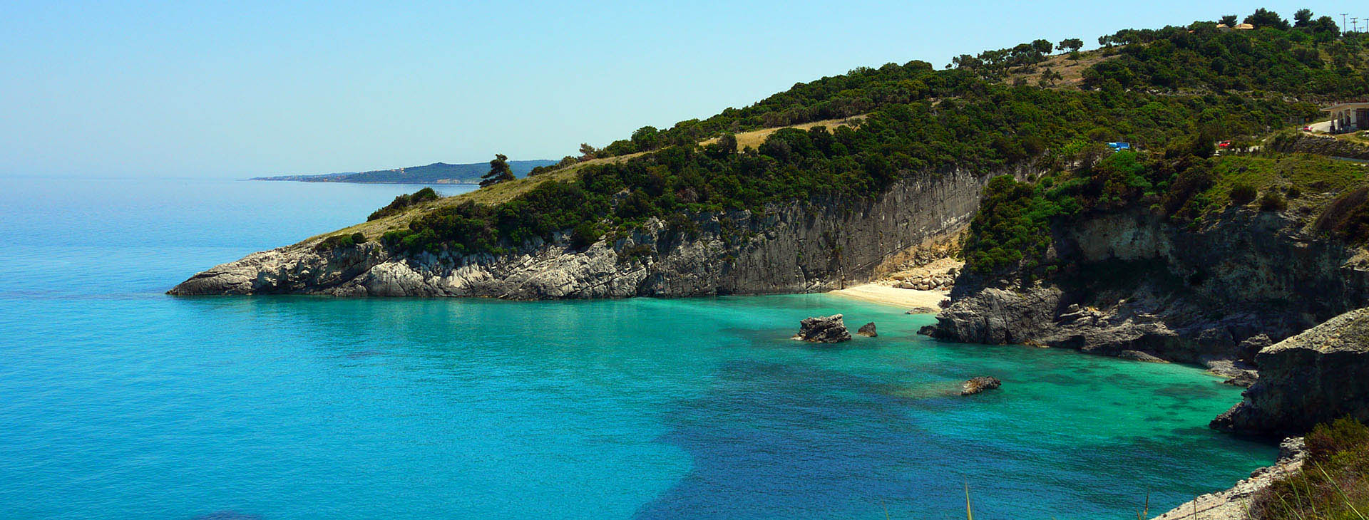 Beach at Zakynthos island