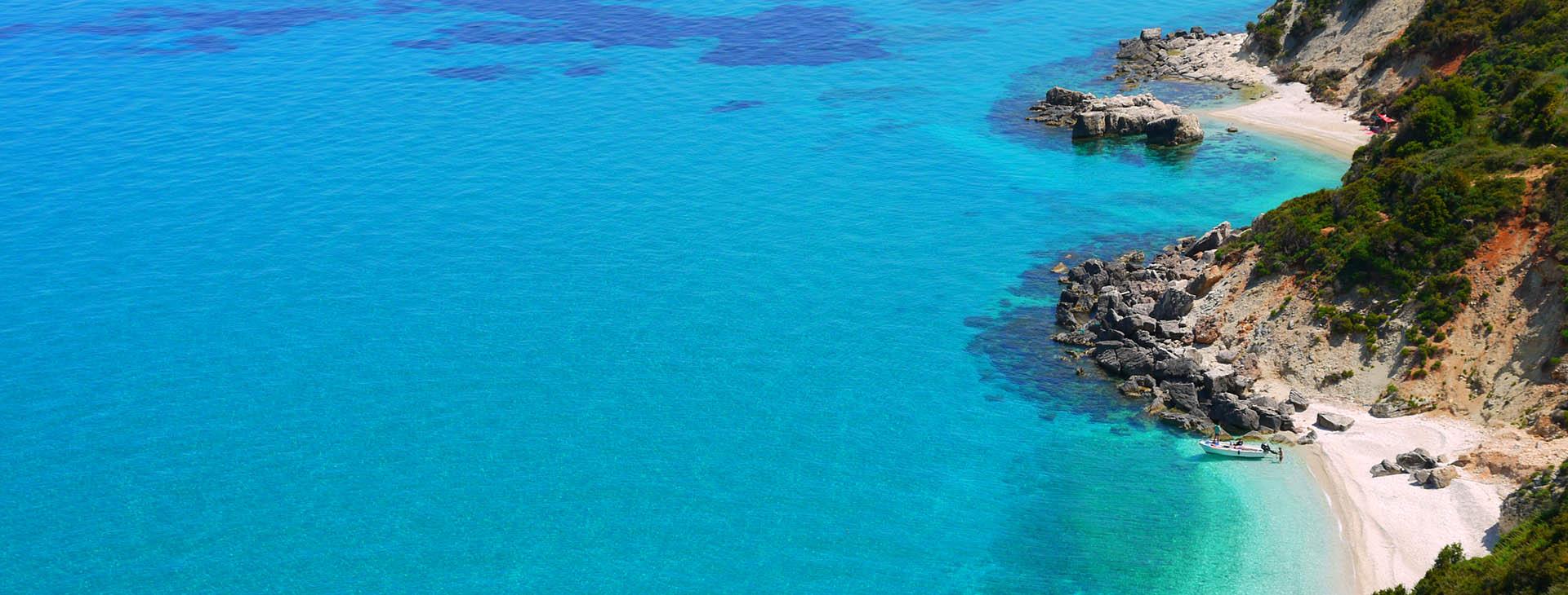 Beach at Zakynthos island