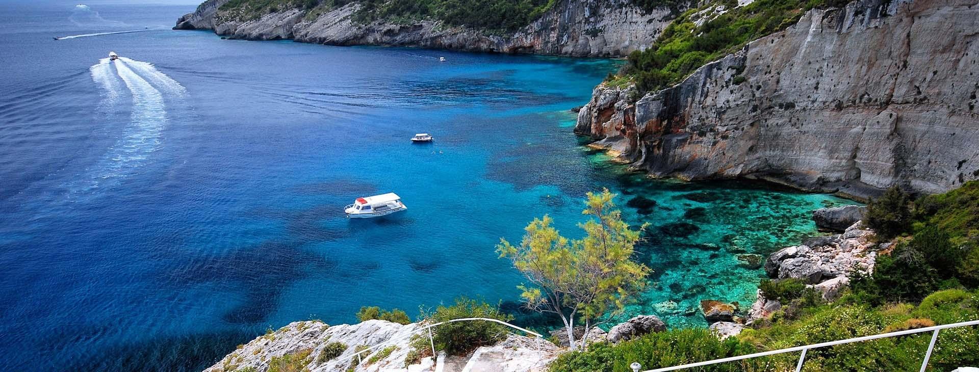 Cove at Zakynthos island