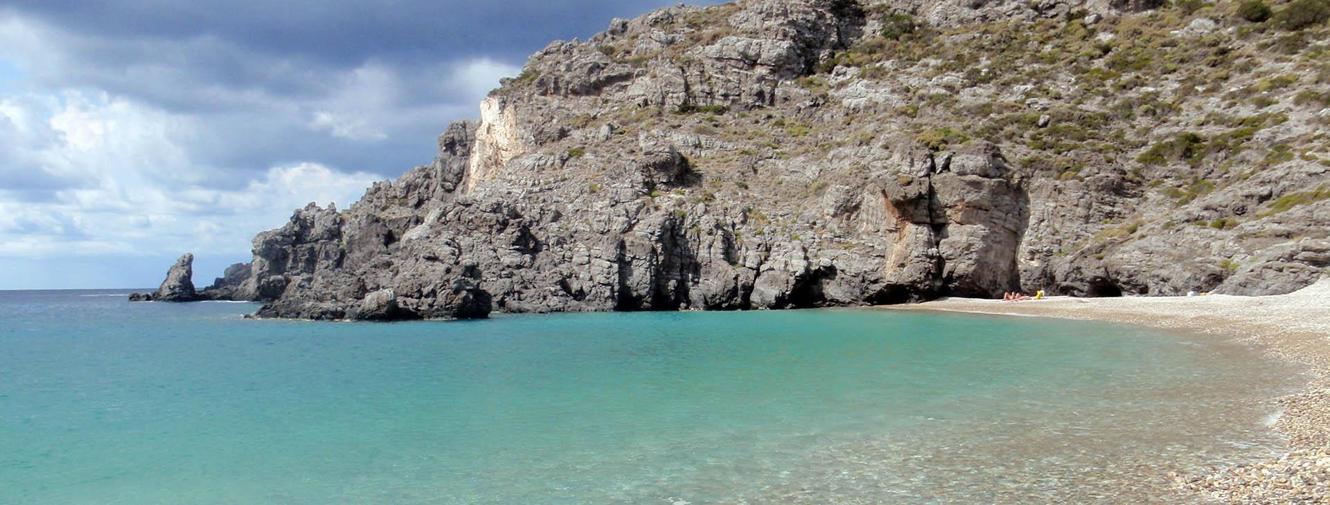 Halkos beach, Kythira island