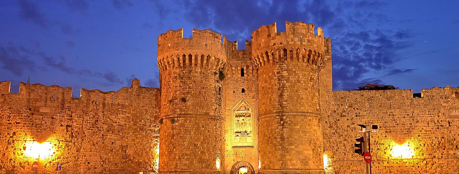 Castle at Rhodes town