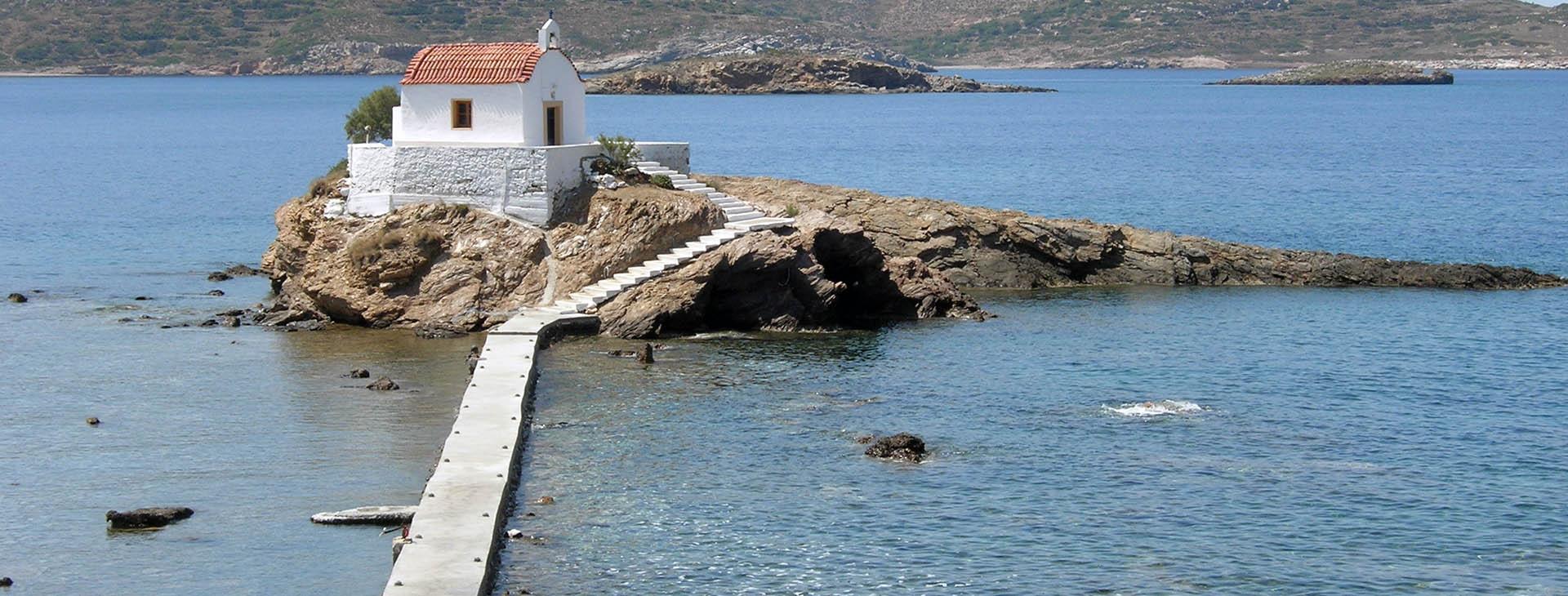 Agios Nikitas, Leros island