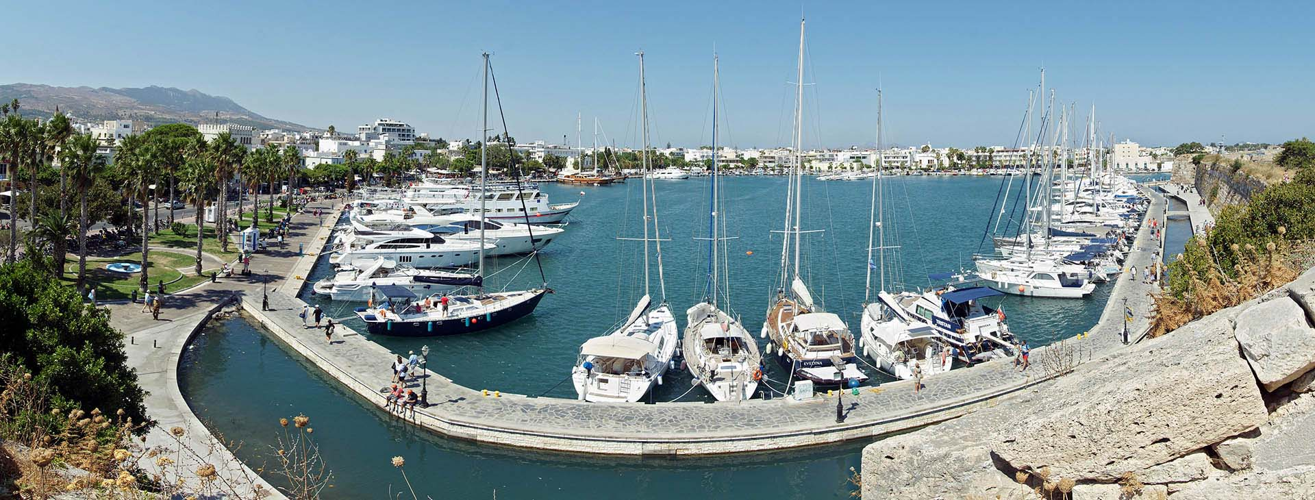 The harbour of Kos island
