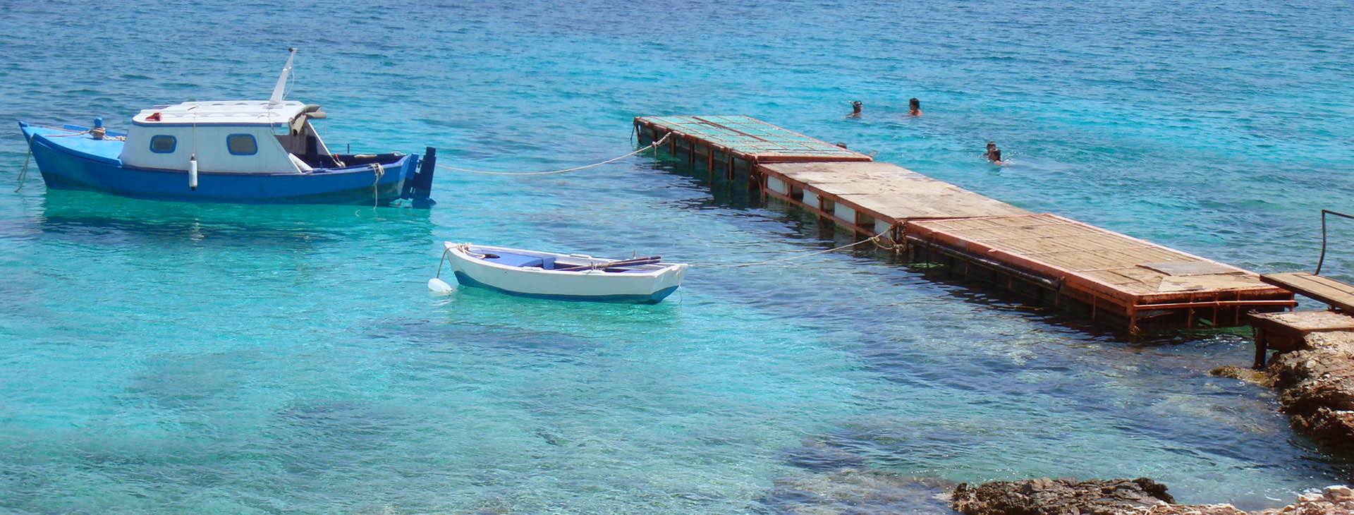 Ftenagia cove, Halki island