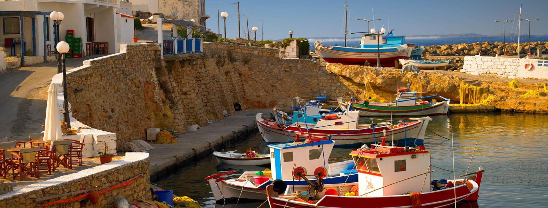 Bouka harbour, Kassos island