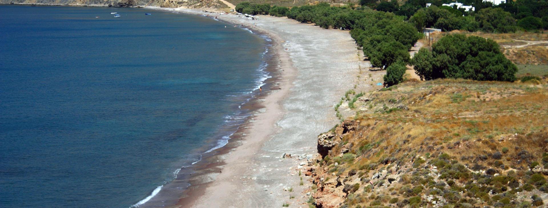 Eristos Beach, Tilos island