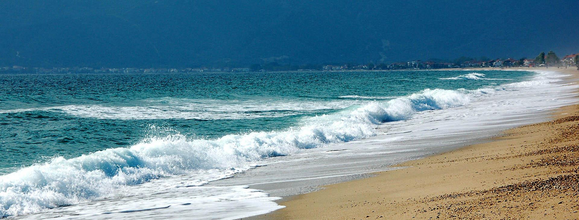 Asprovalta beach, Thessaloniki