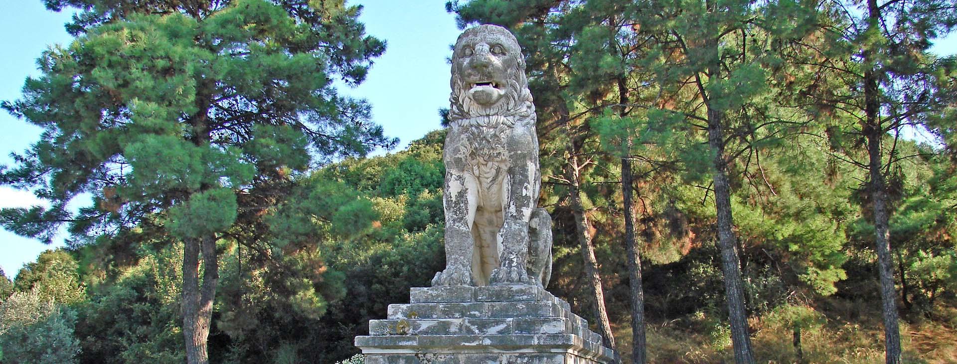Lion of Amphipolis statue, Serres
