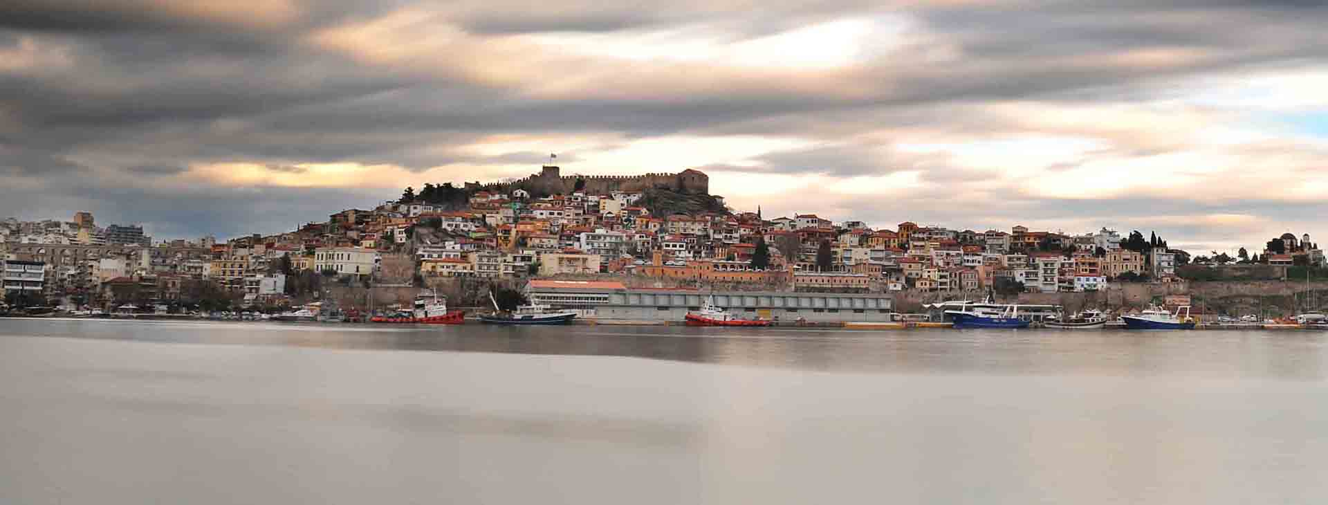 Castle of Kavala and old town