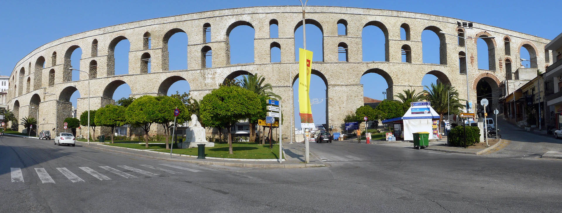 Aqueduct in Kavala town