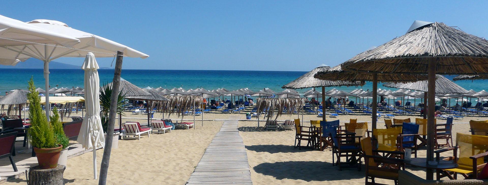 Ammolofoi beach, Nea Peramos, Kavala town