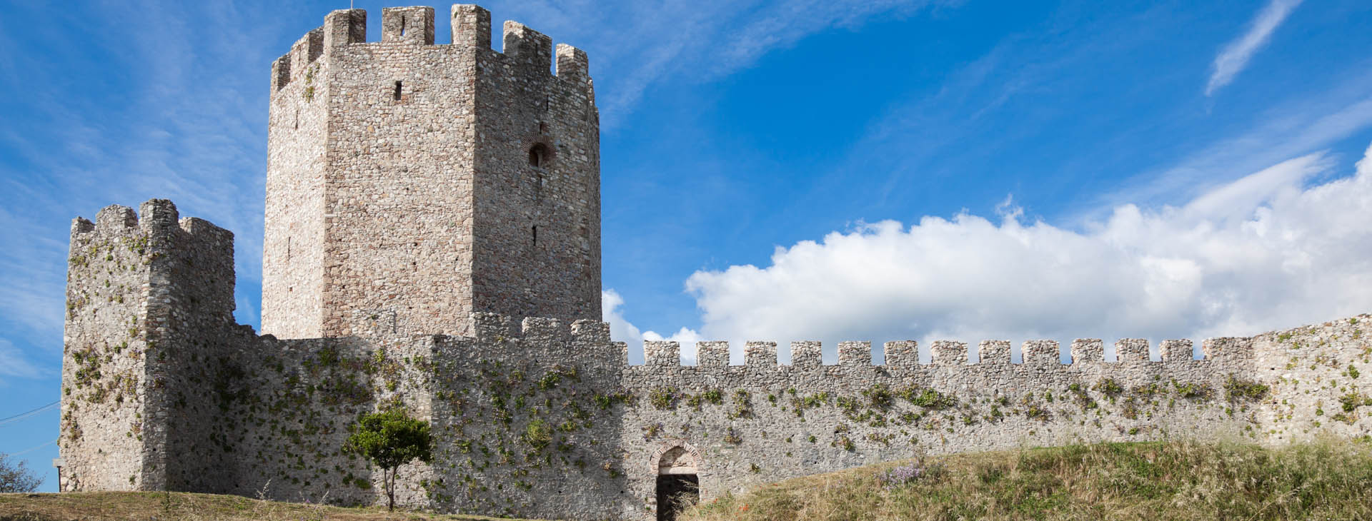 The castle of Platamonas, Pieria