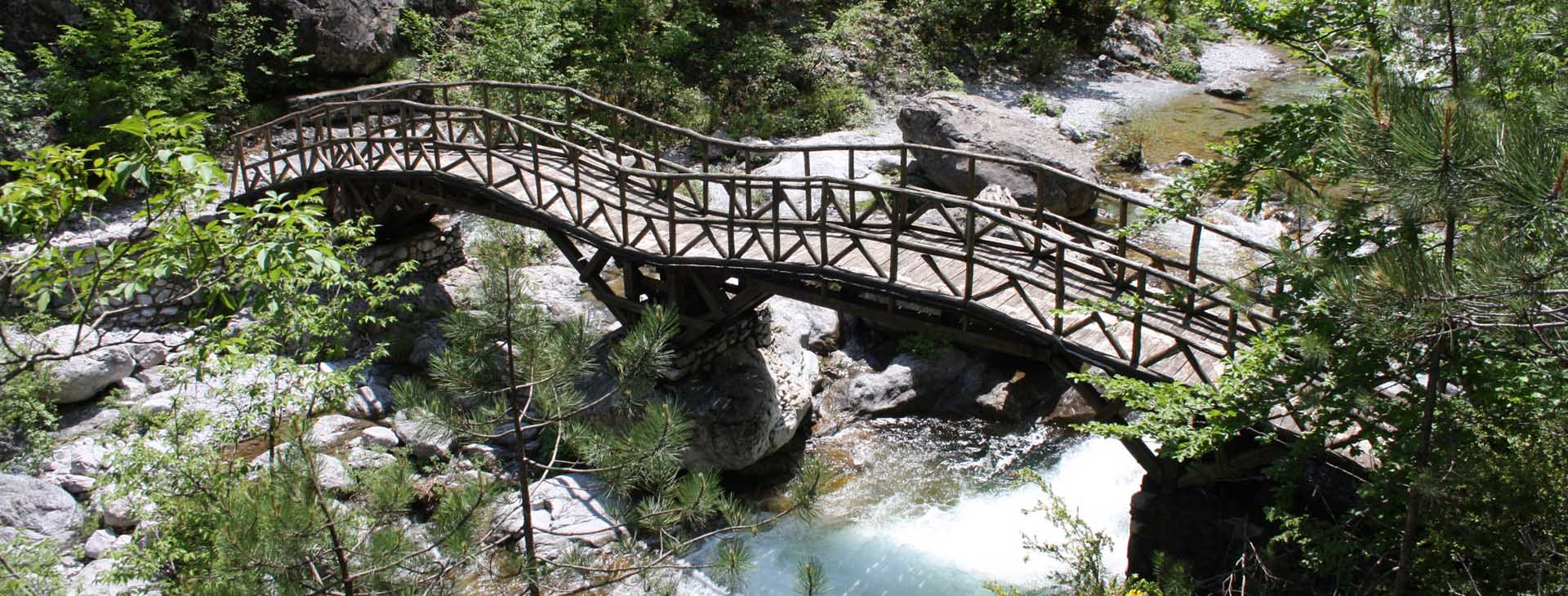 Bridge on Enipeas Gorge, Mt. Olympus, Pieria