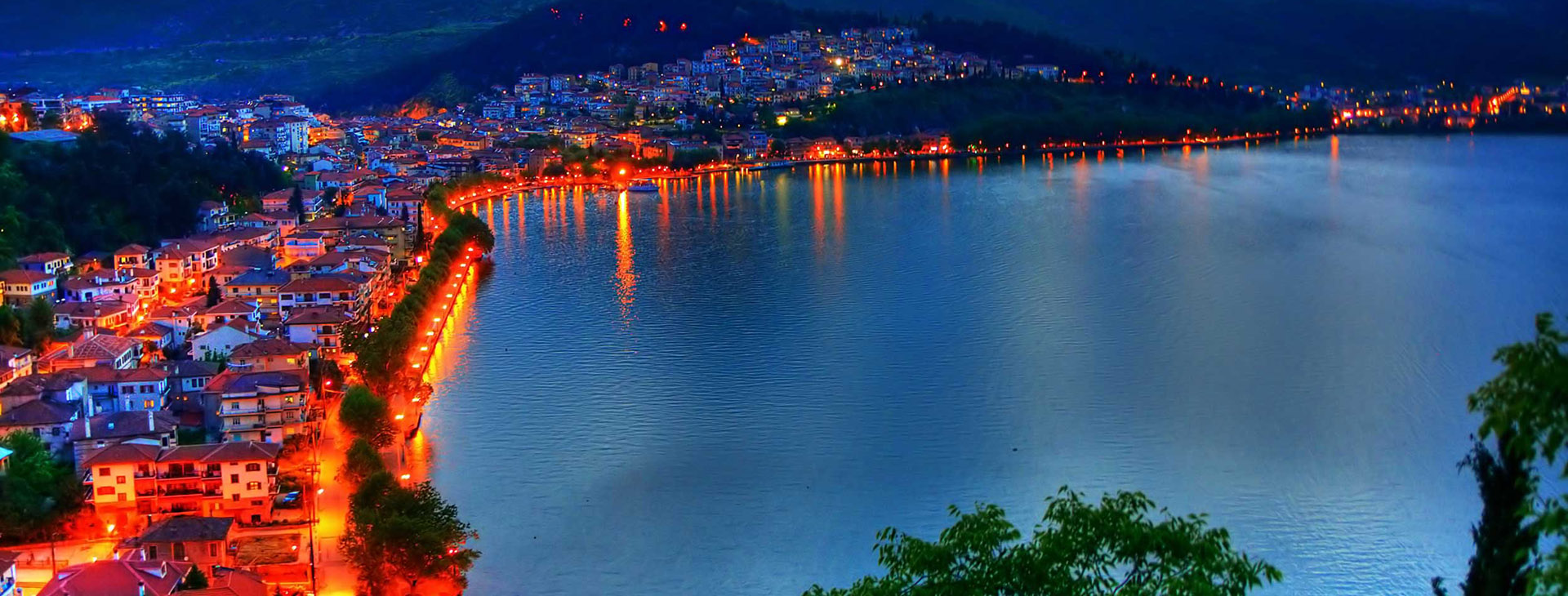 Kastoria town and lake