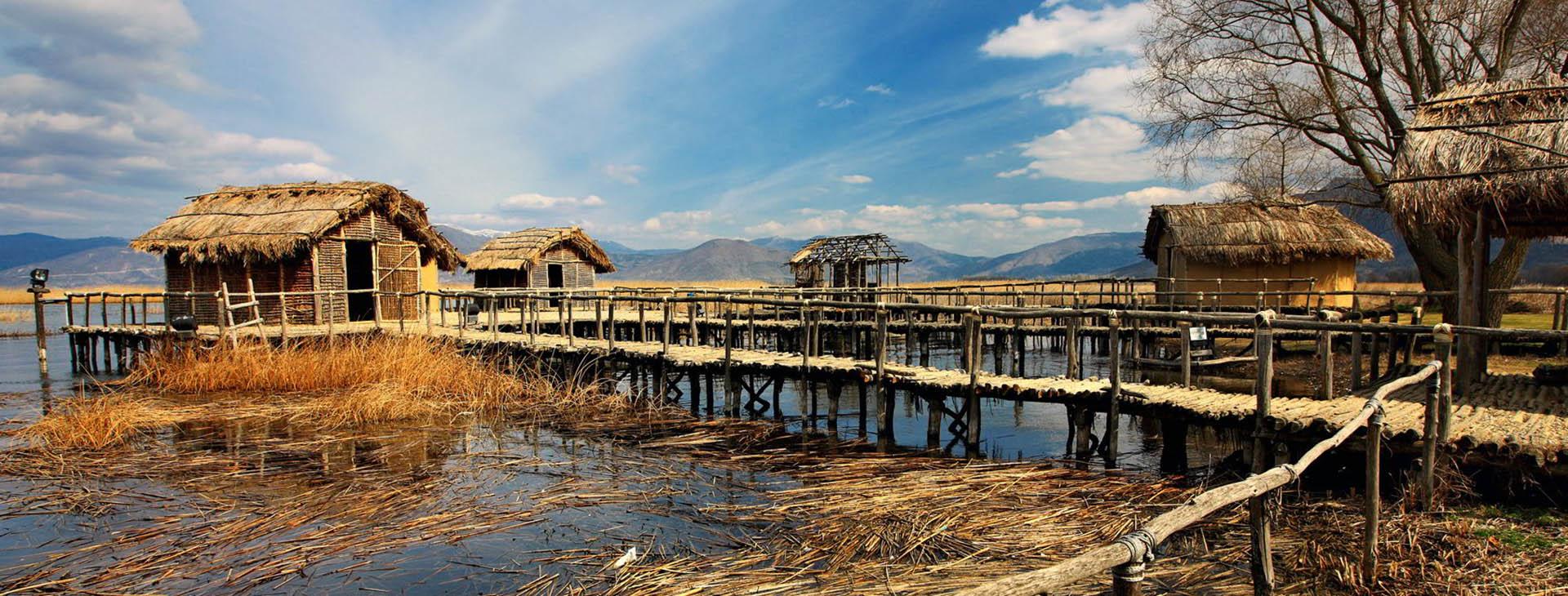 Prehistoric lakeside settlement Dispilio, Kastoria lake