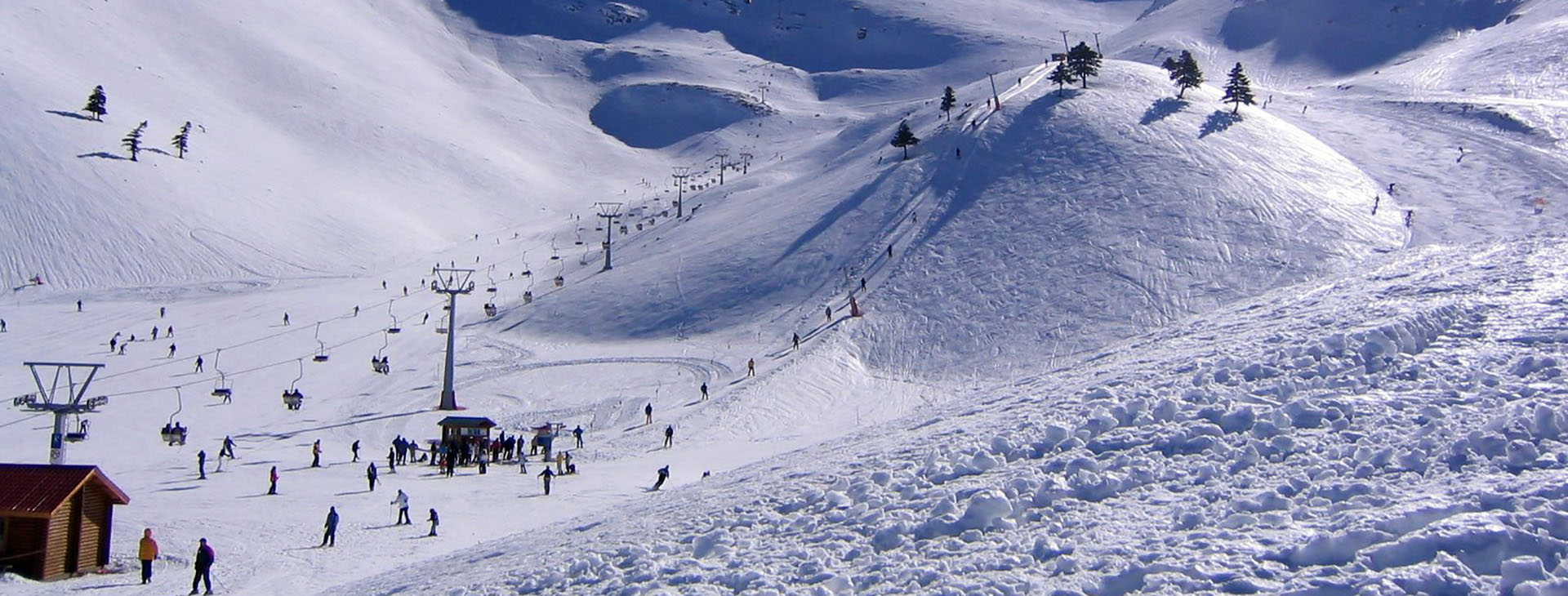 Seli Ski Center, Mt. Vermio, Imathia