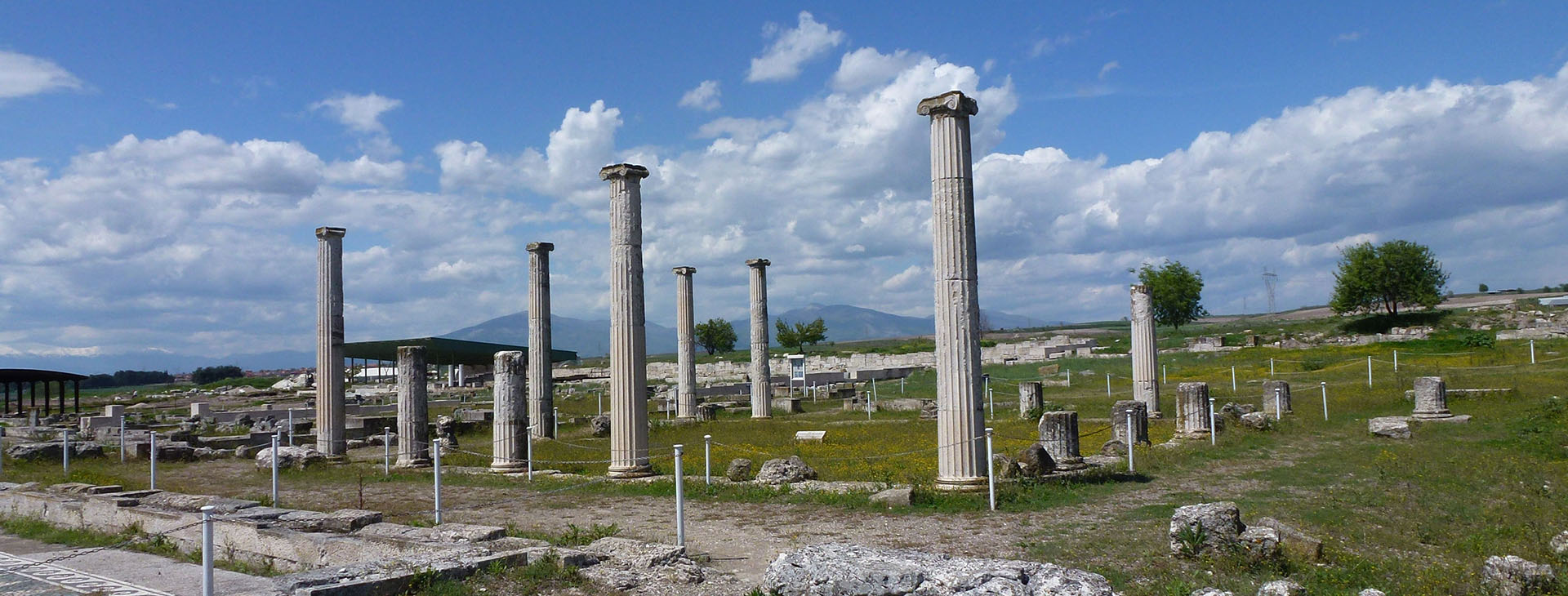 Archaeological site of Pella, the capital of ancient Macedonia