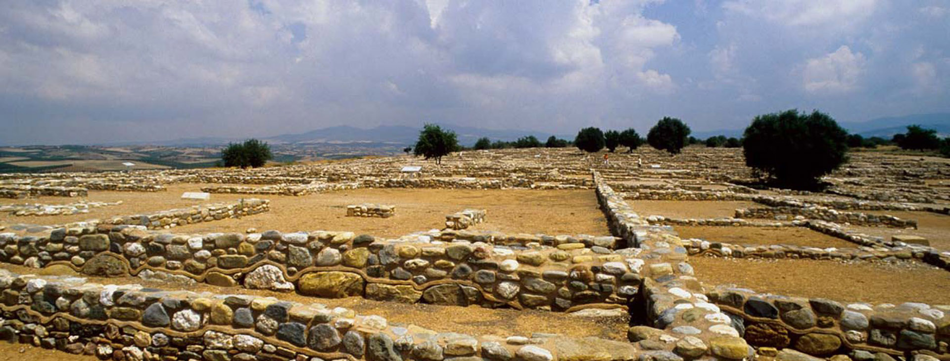 Archaeological site of Olynthos, Halkidiki (Chalkidiki)