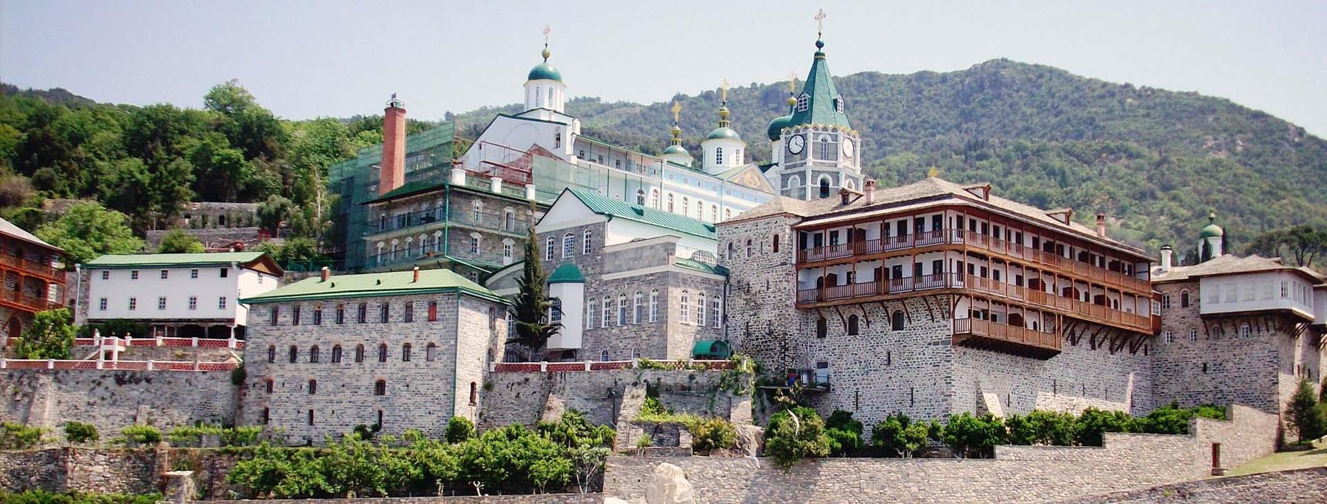 St. Panteleimon Monastery, Mt. Athos, Halkidiki (Chalkidiki)