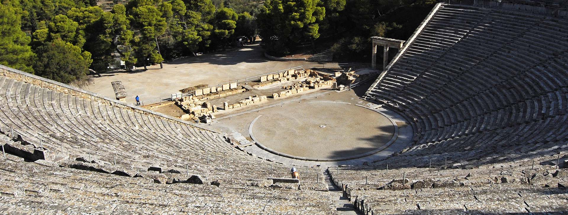 Ancient theatre of Epidaurus, Argolida