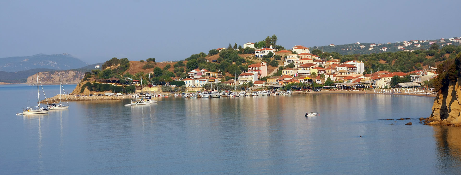 Finikounta village, Messinia