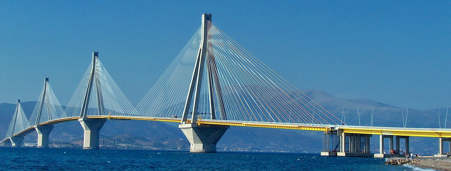 Rio-Antirio bridge, Ahaia