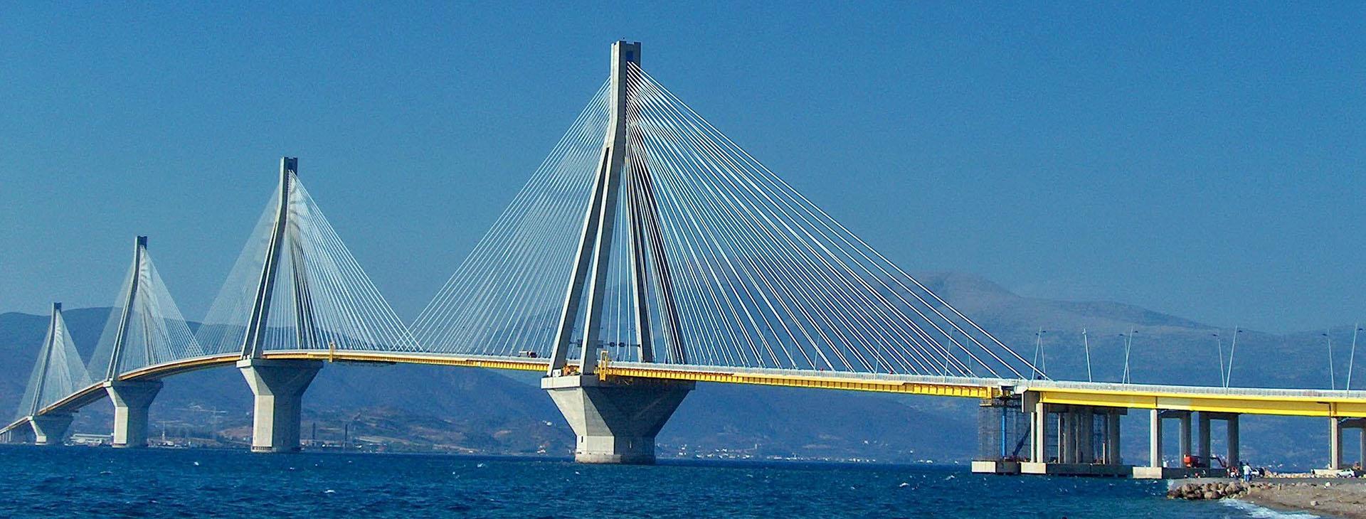 Rio-Antirio bridge, Ahaia