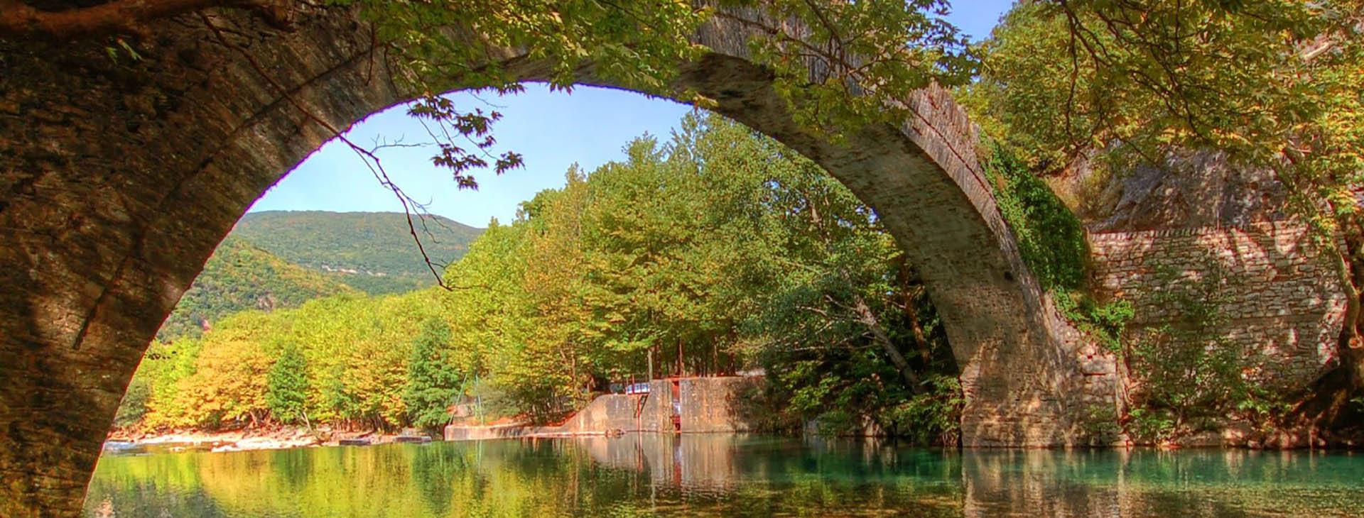 Klidonias bridge, Voidomatis river, Ioannina