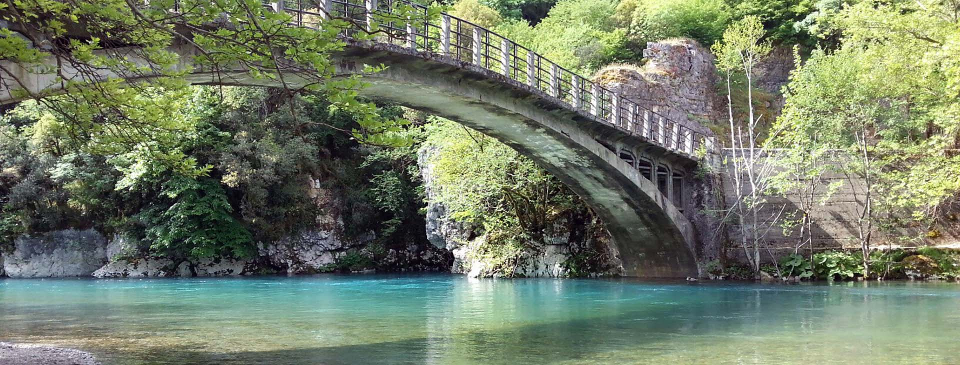 Aristi bridge, Voidomatis river, Ioannina