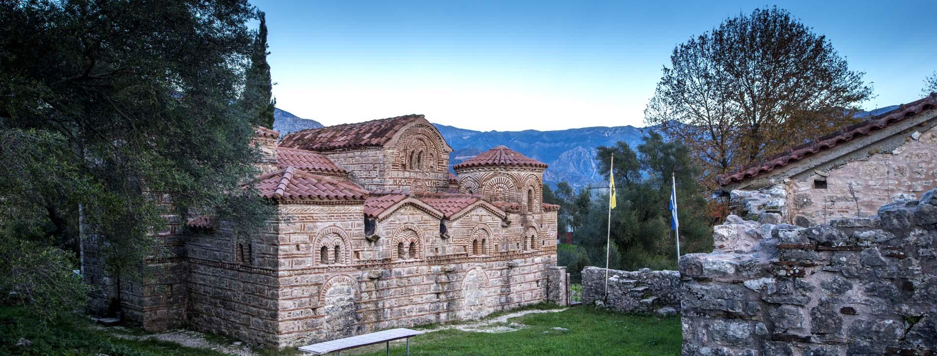 Monastery of Agios Dimitrios, Preveza