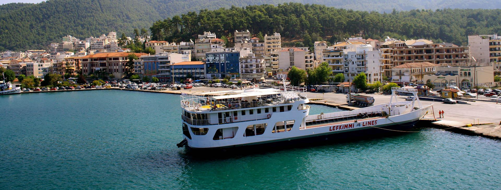 Igoumenitsa port, Thesprotia