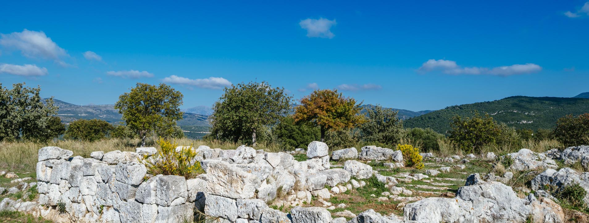 Ancient ruins of Dymokastro, Thesprotia
